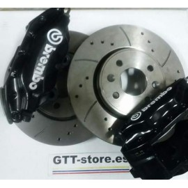 KIT DE FRENOS BREMBO+DISCOS RAYADOS 285MM