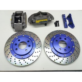 KIT DE FRENOS AP RACING 5040+AP RACING 285MM+LATIGUILLOS +DS3000